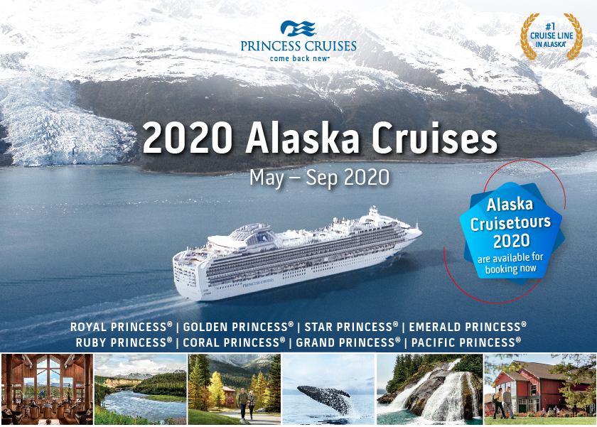 Princess Cruise Alaska 2020.Welcome Citystate Cruises